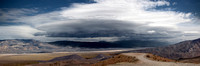 Death Valley Storm - Panoramic