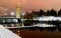 Spokane Riverfront Park Winter Blanket