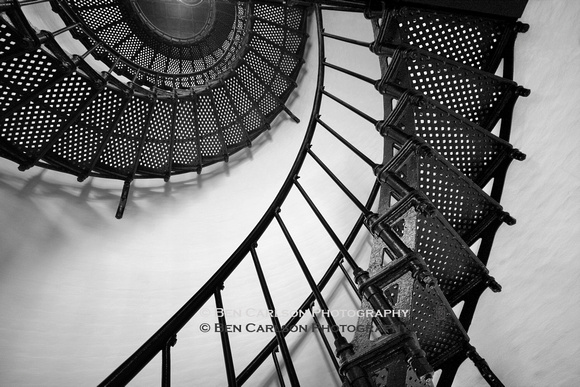 Yaquina Lighthouse Stairs