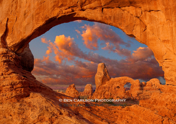 North Window to Turret Arch