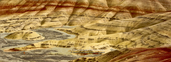 Painted Hills - Panoramic