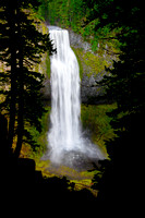 Salt Creek Falls Out Of The Dark